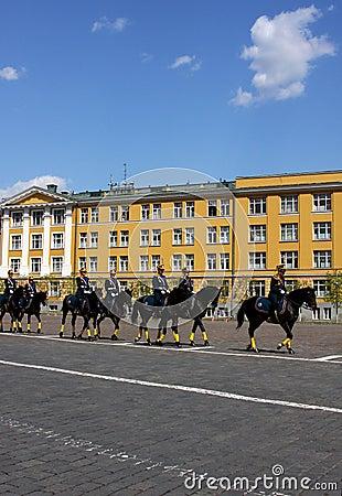 The Kremlin Horse Guard