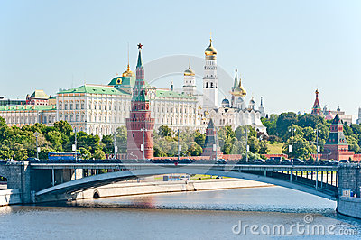 The Kremlin, Moscow, Bolshoy Stone Bridge