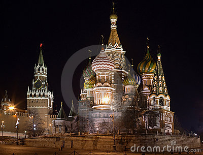 Kremlin Night Scene