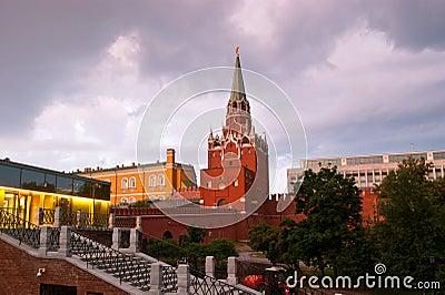 Kremlin before the rain