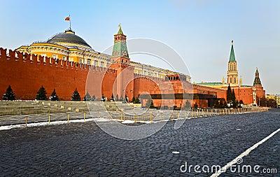 Kremlin, red square