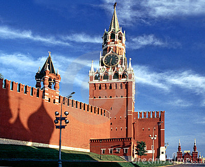 Kremlin with shadow church