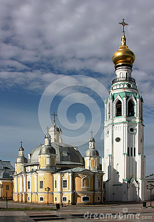 Kremlin Square in Vologda,Russia