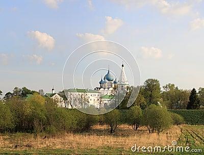 The Kremlin, Suzdal. Golden Ring, Russia
