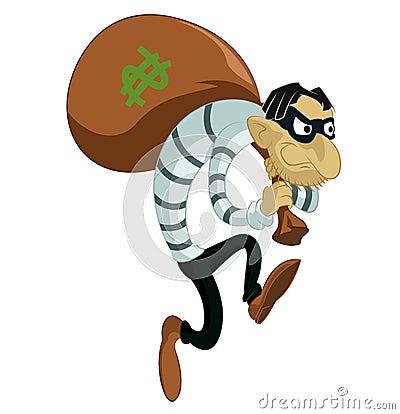 Kreskówka złodziej