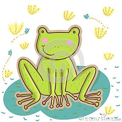 Kreskówki żaba