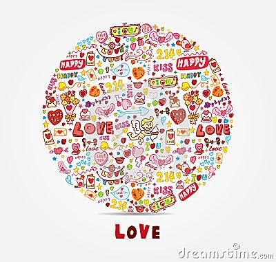 Kreskówki miłości karta