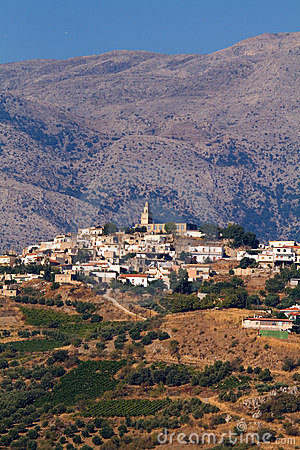Krety gór wioski