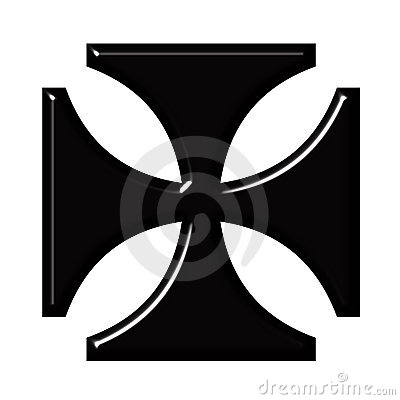 Kreuz des Deutsch-3D