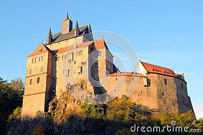 Kriebstein castle Saxony, Germany