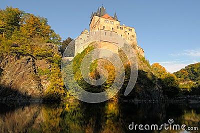Kriebstein castle Saxony Germany
