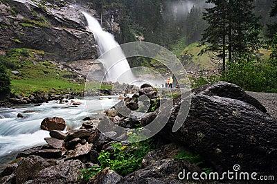 Krimmler Waterfall, Austria