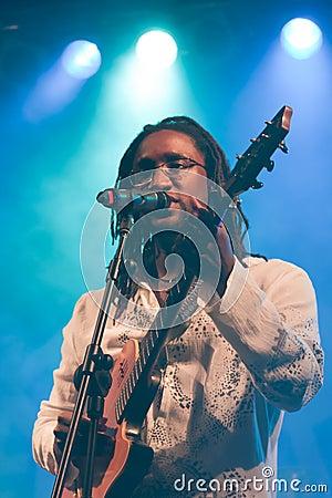 Kriol Jazz Festival on April 13, 2011 Editorial Stock Image