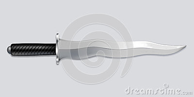 Kris dagger knife - vector art