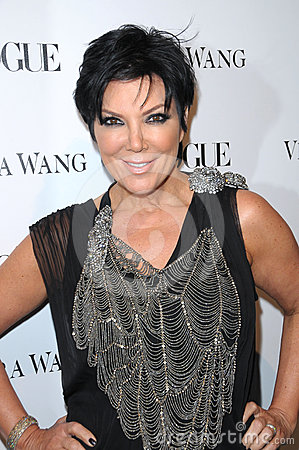 Kris Jenner,Vera Wang Editorial Stock Image