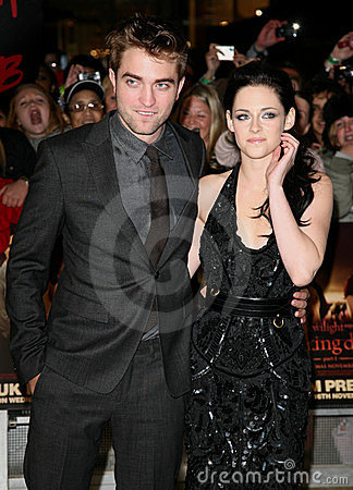 Kristen Stewart, Robert Pattinson Editorial Stock Photo