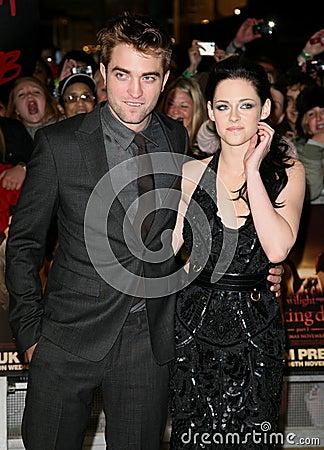 Kristen Stewart, Robert Pattinson Editorial Stock Photo