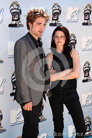 Kristen Stewart,Robert Pattinson Editorial Image