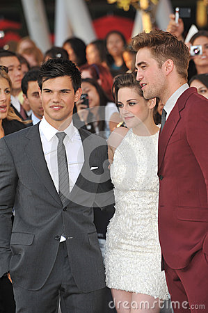 Kristen Stewart,Robert Pattinson,Taylor Lautner Editorial Photography