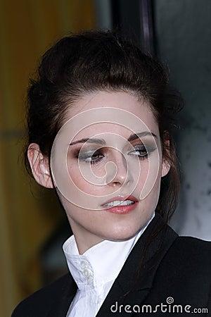 Kristen Stewart at a screening of Editorial Stock Photo