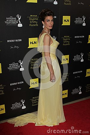 Kristian Alfonso at the 39th Annual Daytime Emmy Awards, Beverly Hilton, Beverly Hills, CA 06-23-12 Editorial Image