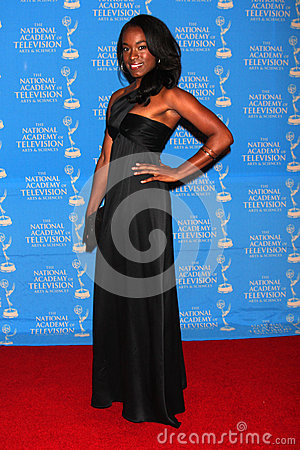 Kristolyn Lloyd arrives at the 2012 Daytime Creative Emmy Awards Editorial Stock Photo
