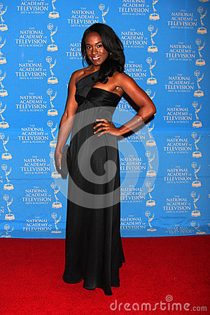 Kristolyn Lloyd arrives at the 2012 Daytime Creative Emmy Awards Editorial Photography