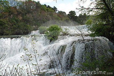 Krka Waterfalls, Croatia Royalty Free Stock Photography - Image: 12562737