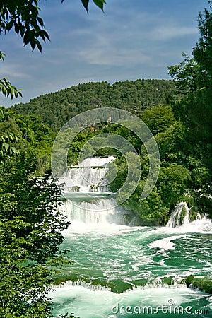 Free Krka Waterfalls (Croatia) Royalty Free Stock Photography - 838327