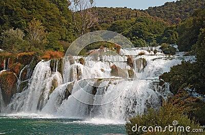 Krka waterfalls3