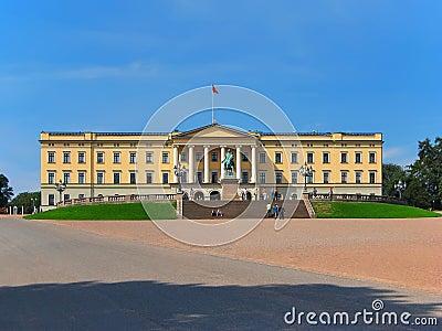 Królewski Norway pałac Oslo