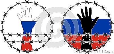 Kränkning av mänskliga rättigheter i Ryssland