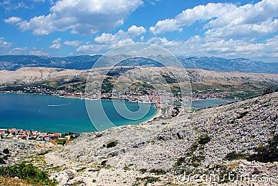 Kroatischer Grenzstein