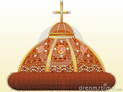Krone von russischem tsar