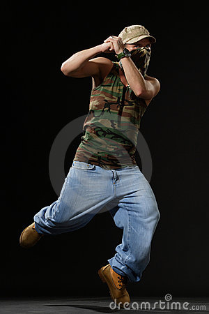 The Krump Dancer Stock Images - Image: 2646284