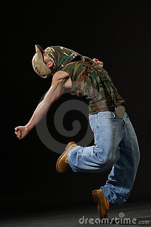 The Krump Dancer Stock Photo - Image: 2646330