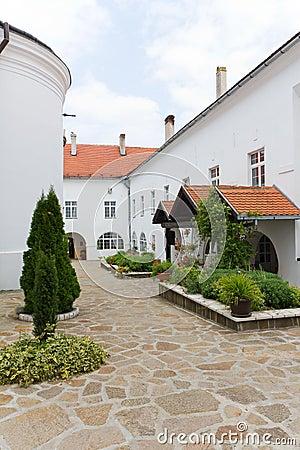 Krusedol Monastery in Fruska Gora, Serbia
