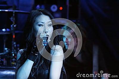 KRYPTERIA - Singer Ji-In Editorial Image