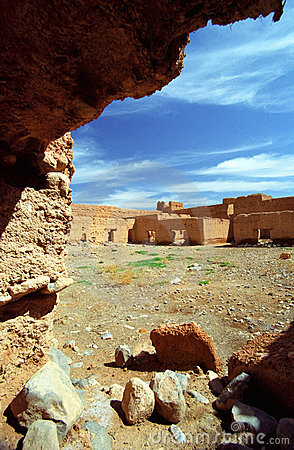 Ksar in Middle Atlas Mountains