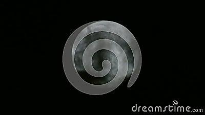 Księżyc W Pełni 02 i chmury zbiory
