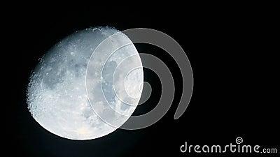 Księżyc zbliżenie zbiory