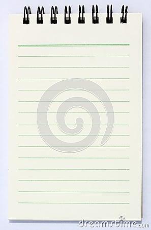 Książkowa notatka