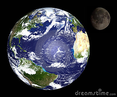 Księżyc ziemi