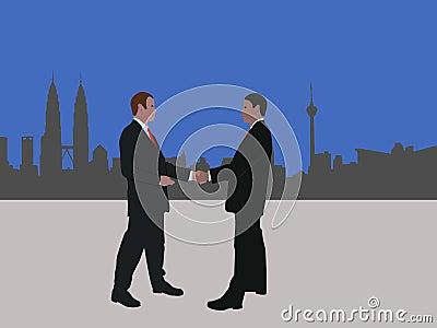 Kuala Lumpur business meeting