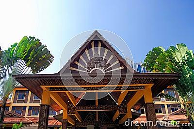 Kuala Lumpur Crafts Complex Editorial Stock Image