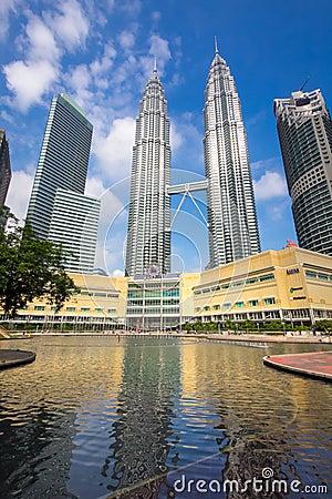 Kuala Lumpur KLCC towers