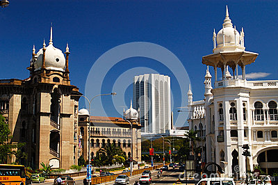 Kuala Lumpur Railway Station Editorial Photography