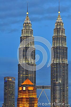 Kuala Lumpur Skyline, Malaysia Editorial Image