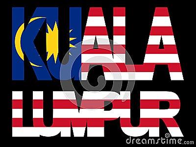 Kuala Lumpur text