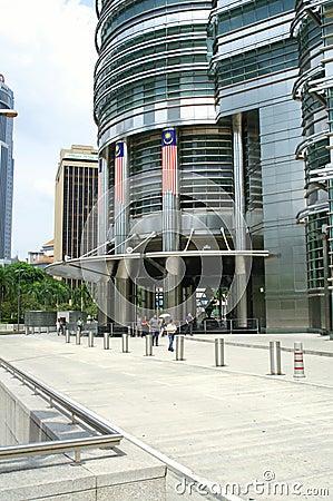 Kuala Lumpur torn kopplar samman
